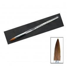 Кисть для акрила прозрачная ручка №10