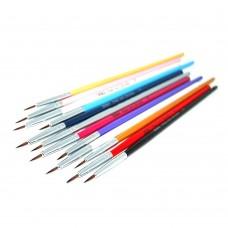 Набор кистей 12шт для рисования цветная ручка 0#