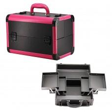 Чемодан-кейс алюминиевый 113 розовый