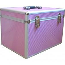 Чемодан-кейс алюминиевый 2270 розовый