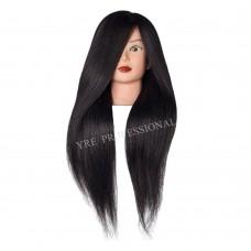 Голова для моделирования 4-519B натуральные черные