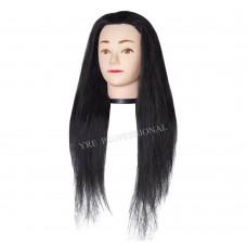 Голова для моделирования искусственные черная