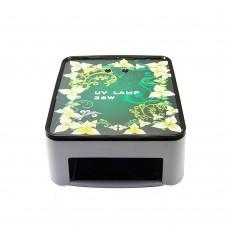 Лампа 36W 301/005 с цветами