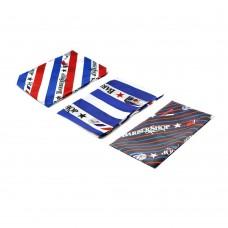 Пеньюар Barber Shop Полосы (синий/белый/красный/черный)