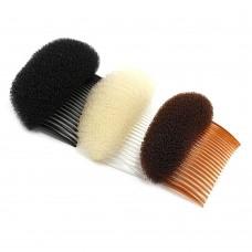 Валик для волос с гребнем (большой)