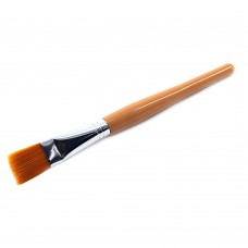Кисть для масок (пластик/оранжевая ручка)