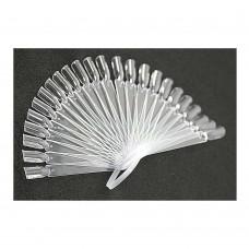 Планшет для образцов 24шт (веер прозрачный)