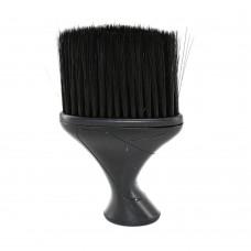 Сметка для волос черная (удлиненная ручка/пластик)