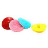 Щетка-массажка для головы цветная (1шт)