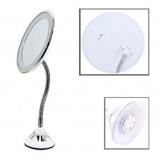 Зеркало LED 084 (с присоской/увеличение в 10 раз/диаметр 15см)