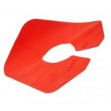 Воротник-утяжелитель для пеньюара (красный)